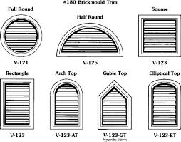 gable vents al s millworks custom wood shutters wood louver vents