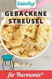 gebackene streusel to go