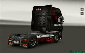 Skin Daf Xf 105 Black Fire » Euro Truck Simulator 2 Download Mods ...
