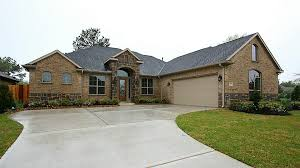 Almost New One Story Home Bentwater Featuring Brick Stone