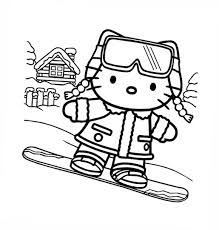 Free Love Quotes Hello Kitty Coloring Pages
