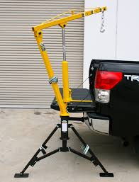 MaxxHaul 70238 Receiver Hitch Mounted Crane - 1000 Lbs. Capacity ...