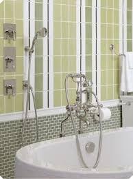 potterie subway ceramic wall tile blue los angeles slate bathroom