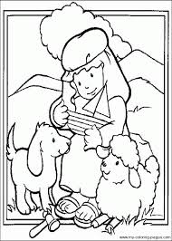 Printable 41 Bible Coloring Pages 9404
