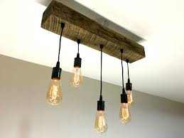 reclaimed barn timber 5 light chandelier 7mwoodworking design