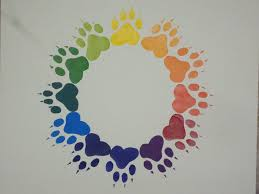 Pawprint Color Wheel By Link2Courage