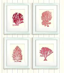 Coral Colored Decorative Items by Marvellous Coral Home Decor Like This Item White Coral Home Decor