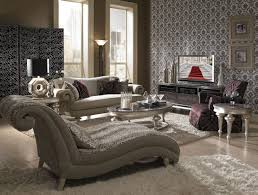 Taupe Living Room Decorating Ideas by Hollywood Swank Living Room Set Taupe Aico Furniture Furniture