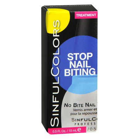 Sinful Colors Stop Nail Biting Treatment - 0.5oz