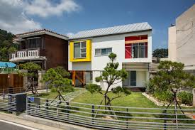 100 South Korea Houses Juhyangjae A Bright And Colorful Family Home From