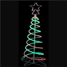 21m Outdoor LED 3D Spiral Christmas Tree Light
