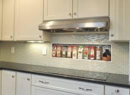 kitchen white subway tile backsplash designs with corner