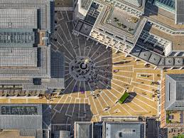 100 Lang Architecture Londons Imperfect Geometry Revealed In Aerial Photography