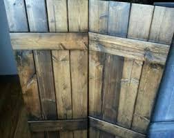 48 RUSTIC Wood Shutters
