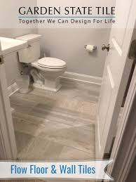 garden state tile on new client bath install designed