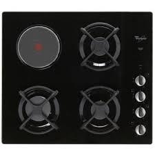 cuisiner au gaz ou à l électricité plaque de cuisson mixte achat vente pas cher cdiscount