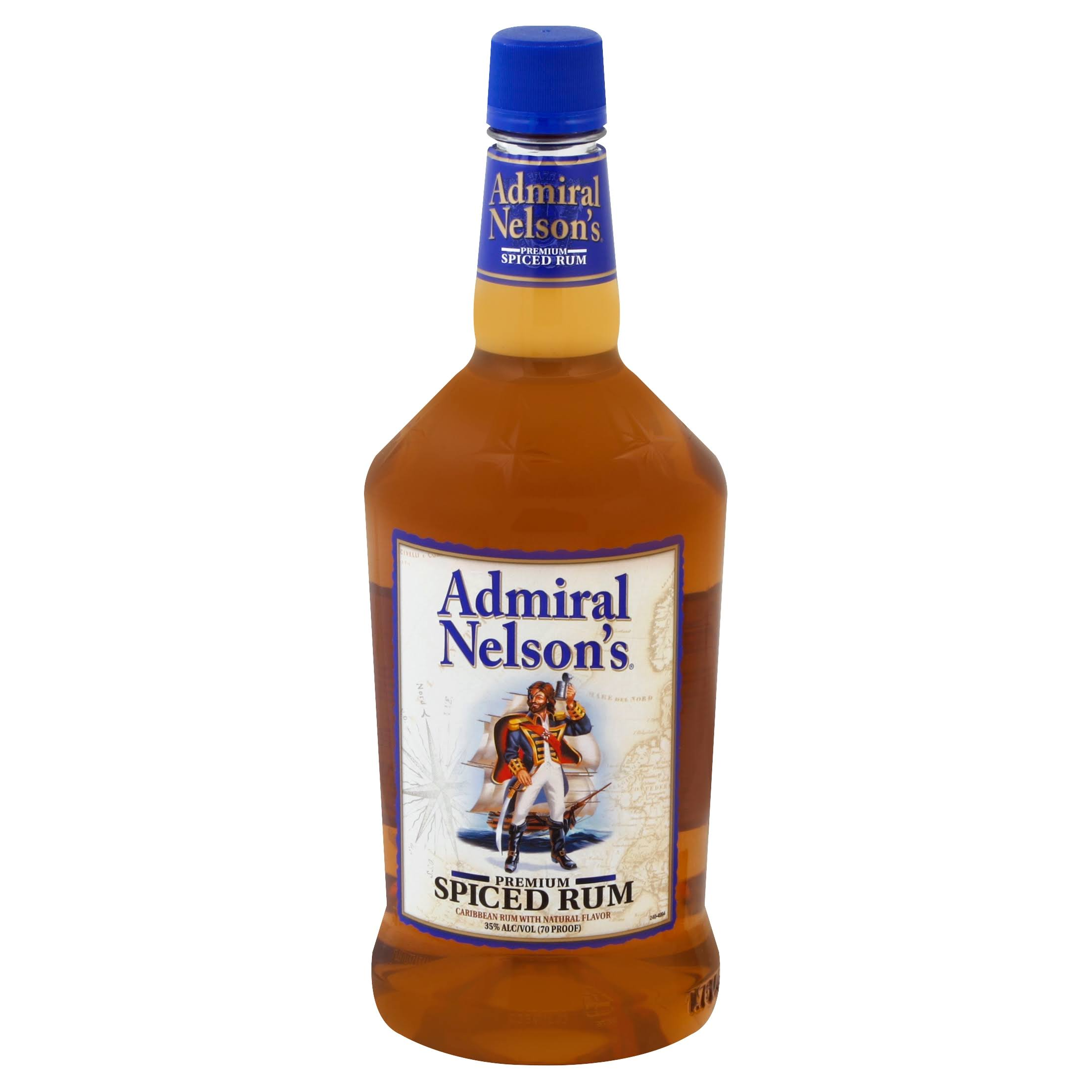 Admiral Nelsons Rum, Premium Spiced - 1.75 l