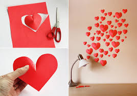 3d Paper Hearts Collage