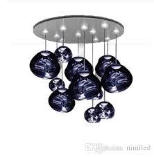 großhandel nordic silver glass pendelleuchten beleuchtung lava hängende le für wohnzimmer loft pendelleuchte schlafzimmer bar küchenvorrichtungen