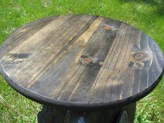Rustic Round Cake Stand LARGE SIZE 18 Inch Weddings By FiNeGRaiNeD 3000