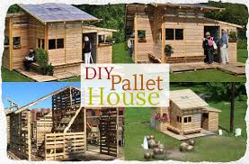 Pallets Seem To Be The Perfect Material Build Just About Anything Out Ofwhich Is Good Since There Are Millions Of Them Building A Small House