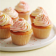 vanilla cupcakes with swirly icing mary berry s cookery course square