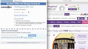 Babies R Us Coupon Code 2013- How To Use Promo Codes And Coupons For  BabiesRUs.com Nearbuy Coupons Offers Promo Code 100 Cashback Sep 22 Big 5 Sporting Goods Coupon 10 Off Entire Purchase Black Friday 2019 Baby R Us Drink Pass Royal Caribbean Pinned November 18th 15 Off At Babies R Us Toys Retail Roundup For Shopping Deals 12613 Week 20 Single Item Printable Coupons Code For Toys Road Cases Usa Coupon Ocm Or Promo Best Wordpress Themes Plugins Athemes Famous Footwear Australia Ami Canada Flyers Babies Fashion Shoes Buy