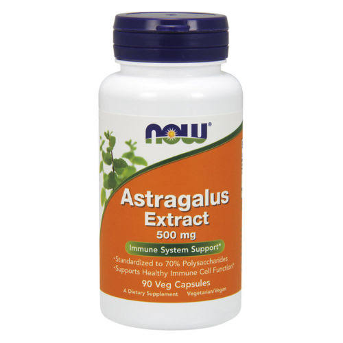 Now Foods Astragalus Extract Supplement - 90 Veg Capsules
