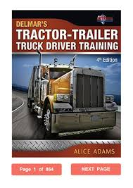 Tractor-Trailer Truck Driver Training Alice Adams PDF By ...