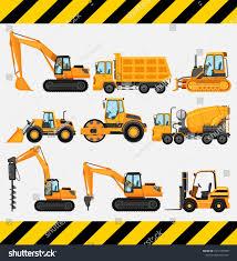 100 Construction Trucks Different Types Illustration Stock