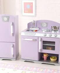 Kid Kraft Kitchen Lavender Stove Refrigerator Retro Set Red Kidkraft Costco