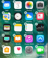 How To Move Apps iPhone iOS 10 I DELETE APPS