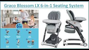 Graco Blossom High Chair 6 In 1: Product Review - My ... Graco Souffle High Chair Pierce Snack N Stow Highchair Blossom 6 In 1 Convertible Sapphire 2table Goldie Walmartcom Highchair Tagged Graco Little Baby 4in1 Rndabout Amazoncom Duodiner Lx Tangerine Buy Baby Flyer 032018 312019 Weeklyadsus Baby High Chair Good Cdition Neath Port Talbot Gumtree Best Duodiner For Infants Gear Mymumschoice The New Floor2table 7in1 Provides Your