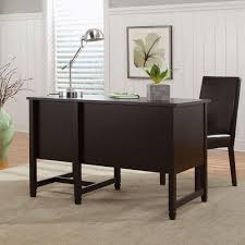 Sauder Edge Water Writing Desk by Sauder Edge Water Desk Estate Black Walmart Com