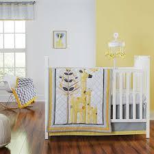sweet jojo gray and yellow crib bedding tags yellow and gray