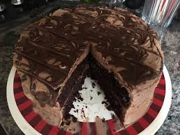 Delicious Black Magic Cake with Milk Chocolate Frosting