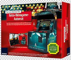 arcade arcade cabinet franzis verlag arcade