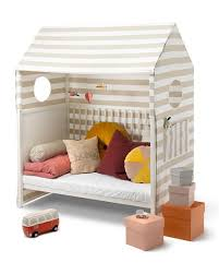 Nickel Bed Tent by Stokke Home Toddler Bed Tent Beige White