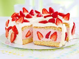 erdbeer sahnetorte