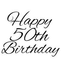 happy 50th birthday clipart happy birthday clip art black and white