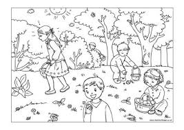 Easter Egg Hunt Colouring Page 2