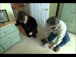 how to repair squeaky floors through carpeting this old house