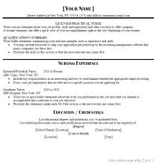 Lvn Resume Cover Letter Free Download Sample Templates Inside Template