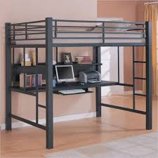 Dark Adults Bunk Beds With Hidden Storage Headboards For Stairs