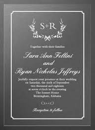Clear Wedding Invitations Transparent