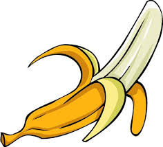 Black and white banana clipart free clipart images clipartix