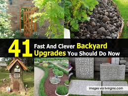 41 Fast And Clever Backyard Upgrades You Should Do Now Backyard Design Upgrades Pool Tropical With Coping Silk 11 Ways To Upgrade Your Mental Floss Nextlevel Outdoor Makeover Of A Bare Lifeless Best 25 Cheap Backyard Ideas On Pinterest Solar Lights 20 Yard Landscaping Ideas For Front And Small Spaces We Love Bob Vila Greek Escape Video Diy Budget Patio Easy 5 Cool Prefab Sheds You Can Order Right Now Curbed 50 Designs In 2017 36 Best Images About Faux Stone Landscape Se Wards Management