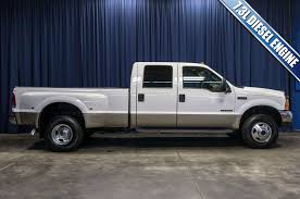 Used 2001 Ford F-350 Lariat Dually 4x4 Diesel Truck For Sale - 44908