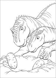 Dinosaur Egg 2 Coloring Page