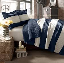 Lush Decor Serena Bedskirt by Navy White Stripe Quilt Lush Decor Yahoo Image Search Results